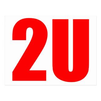 2U POSTCARD