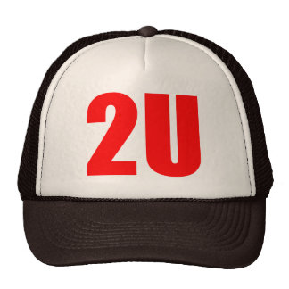2U TRUCKER HATS