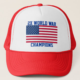 2x World War Champions hat