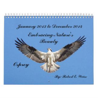 2yr.Calender deplicting birds starting Jan.2013 Calendar