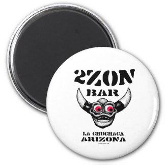 2Zon Bar 6 Cm Round Magnet