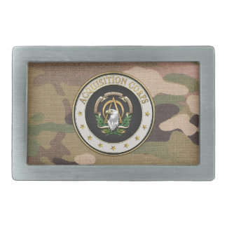 [300] Acquisition Corps (AAC) Branch Insignia [3D] Belt Buckles