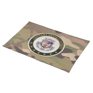 [300] AG Corps Regimental Insignia [3D] Placemat