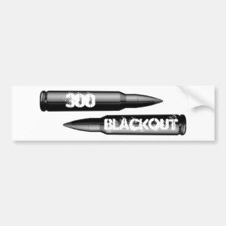 300 Blackout ammo Bumper Sticker