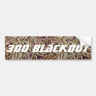 300 Blackout Bumper Sticker