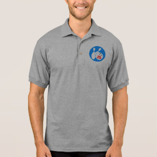 300 bowling polo shirt