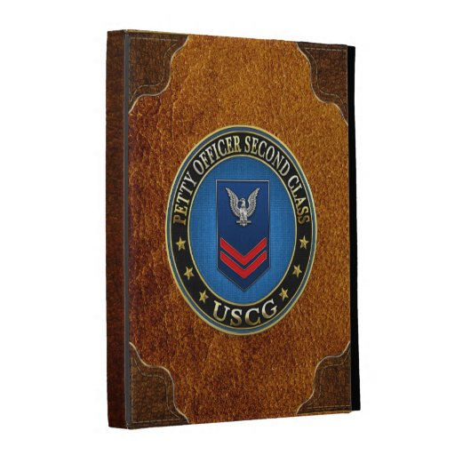 [300] CG: Petty Officer Second Class (PO2) iPad Folio Cover