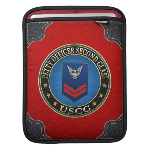 [300] CG: Petty Officer Second Class (PO2) iPad Sleeve