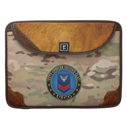 [300] CG: Petty Officer Second Class (PO2) Sleeve For MacBooks
