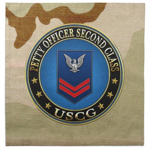 [300] CG: Petty Officer Second Class (PO2) Cloth Napkins