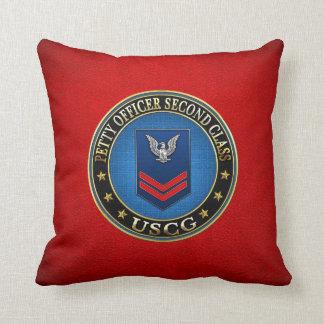 [300] CG: Petty Officer Second Class (PO2) Throw Cushion