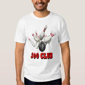 300 Club Bowling T Shirt
