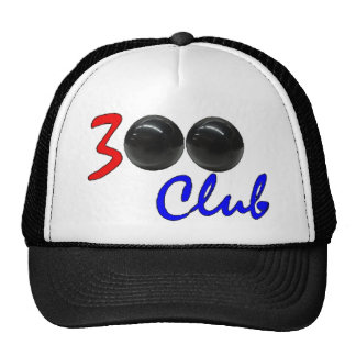 300 Club - Perfect Bowling Game Gift Trucker Hats