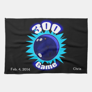 300 Game Blues Tea Towel