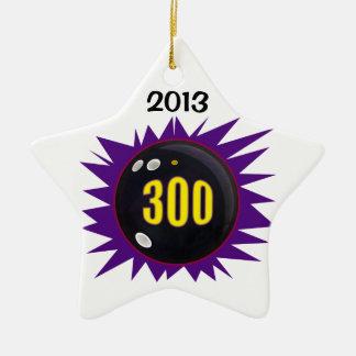 300 Game Ceramic Star Decoration