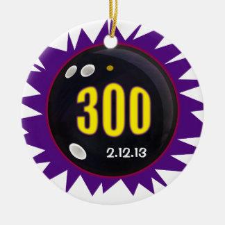 300 Game Round Ceramic Decoration