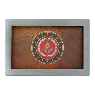 [300] Masonic Square and Compasses [3rd Degree] Belt Buckles