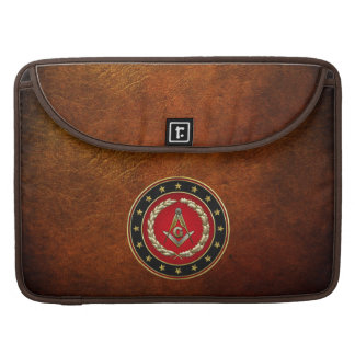 [300] Masonic Square and Compasses [3rd Degree] Sleeves For MacBook Pro