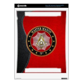 [300] Master Mason - 3rd Degree Square & Compasses Xbox 360 Console Skin