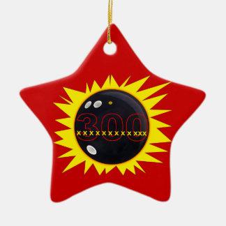 300 Perfect Game Ceramic Star Decoration