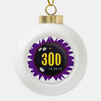 300 Perfect Game Purple Ceramic Ball Decoration