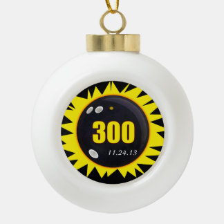 300 Perfect Game Yellow Ornaments