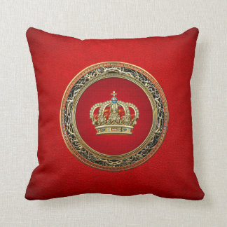 [300] Prince-Princess King-Queen Crown [Belg.Gold] Cushion
