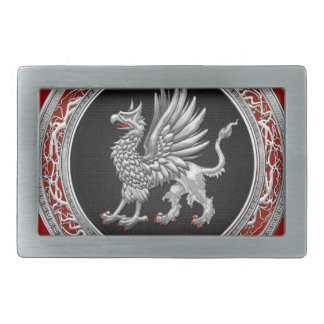 [300] Sacred Silver Griffin Belt Buckle
