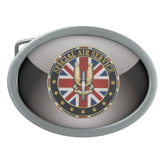 [300] Special Air Service (SAS) Badge [3D] Belt Buckles