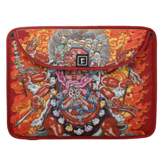 [300] Tibetan Thangka  - Wrathful Deity Hayagriva Sleeves For MacBooks