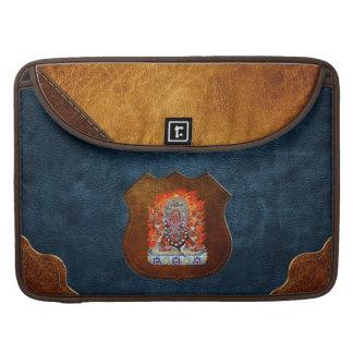 [300] Tibetan Thangka  - Wrathful Deity Hayagriva MacBook Pro Sleeves
