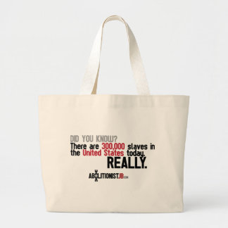 300K Slaves in the USA Today Canvas Bag