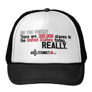 300K Slaves in the USA Today Trucker Hats
