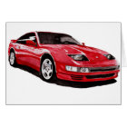300zx Twin Turbo Painting Card