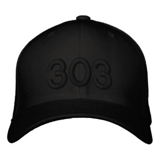 303 EMBROIDERED HAT