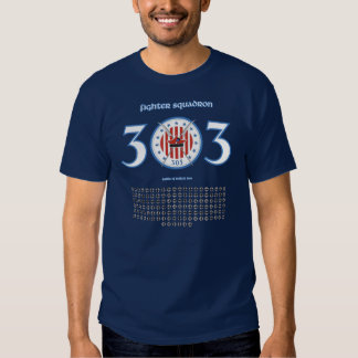 303 Fighter Squadron T-shirt