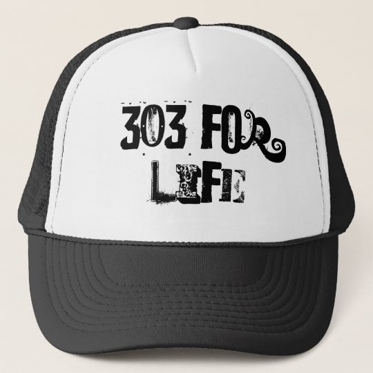 303 For Life Cap