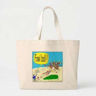305 fowl ball cartoon canvas bags