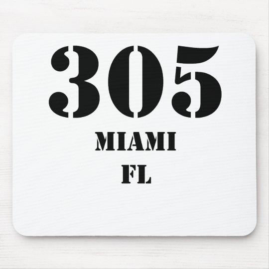 305 Miami FL Mouse Mat