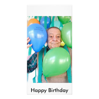 3061 Suprise birthday party for an ederly man, ... Picture Card