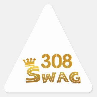 308 Nebraska Swag Stickers