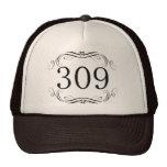 309 Area Code Hat