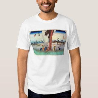 30. 浜松宿, 広重 Hamamatsu-juku, Hiroshige, Ukiyo-e T-shirt