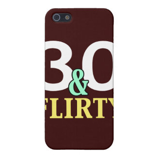 30 and Flirty 30th Birthday iphone Case Cover For iPhone 5