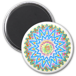 30 Artistic Variety Collection 6 Cm Round Magnet