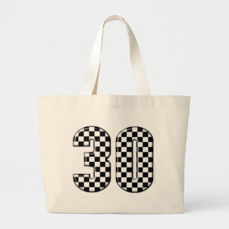 30 auto racing number bags