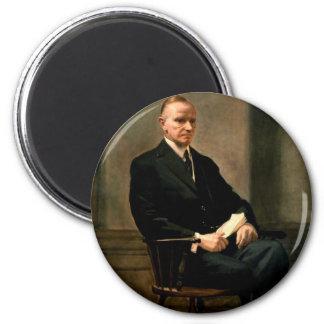 30 Calvin Coolidge 6 Cm Round Magnet
