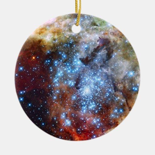 30 Doradus Nebula Star Clusters Christmas Ornament