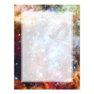 30 Doradus Nebula Star Clusters Personalized Flyer