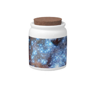 30 Doradus Nebula Star Clusters Candy Jar